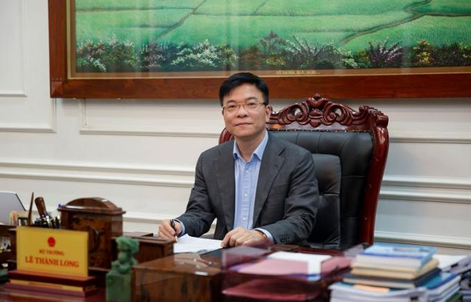 Bộ trưởng Tư pháp Việt Nam - Lê Thành Long.