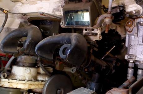 Hệ thống xe tăng thời này chưa có hệ thống điều khiển hỏa lực hiện đại, mà chủ yếu là các khí tài quang học hỗ trợ ngắm bắn cho pháo thủ. Dẫu vậy thế là đủ dùng bởi xe tăng đối phương cũng không hiện đại hơn là bao nhiêu. Nguồn ảnh: Wiki