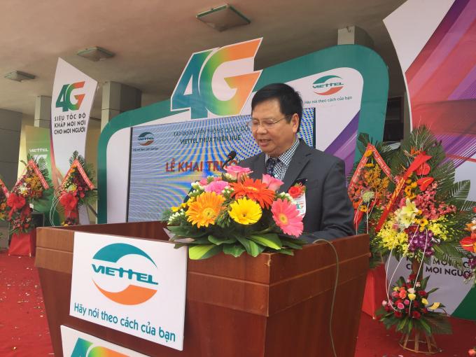 Ông Nguyễn Dung – Phó Chủ tịch UBNDtỉnh Thừa Thiên Huế đánh giá cao những đóng góp của Viettel vào sự phát triển của nền kinh tế cũng như chính sách an sinh xã hội trên địa bàn tỉnh.