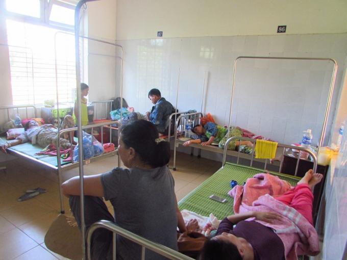 Hiện tại vẫn còn 27 bệnh nhân điều trị tại Trung tâm y tế Hương Thủy.