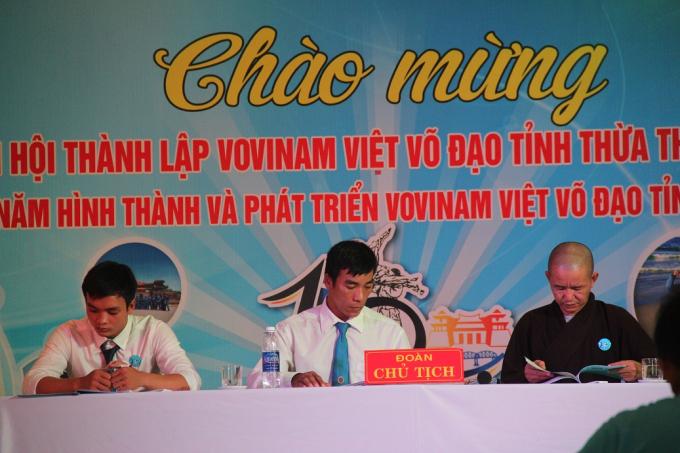 Lễ kỉ niệm là dịp để nhìn lại và định hướng cho tương lai của bộ môn VOVINAM tại tỉnh Thừa Thiên - Huế.
