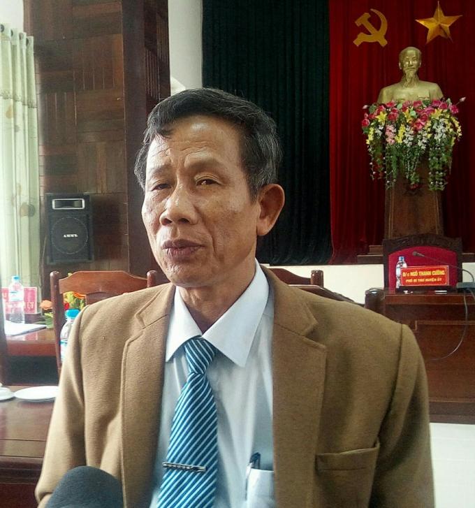 Ông Hùng cũng cho biết vụ việc sẽ đượcxử lý theo đúng quy địnhvề mặt Đảng và pháp luật.