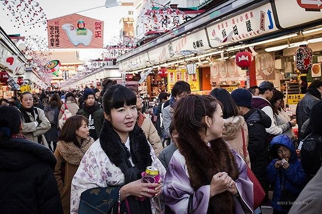 Năm mới của người Nhật tổ chức cho thần Toshigami-sama.