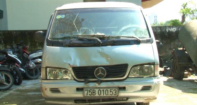Phương tiện gây tai nạn.