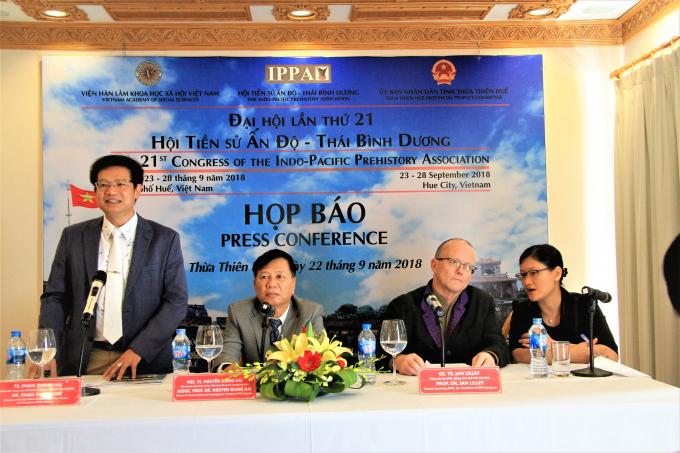 TS. Phan Thanh Hải phát biểu tại Đại hội.