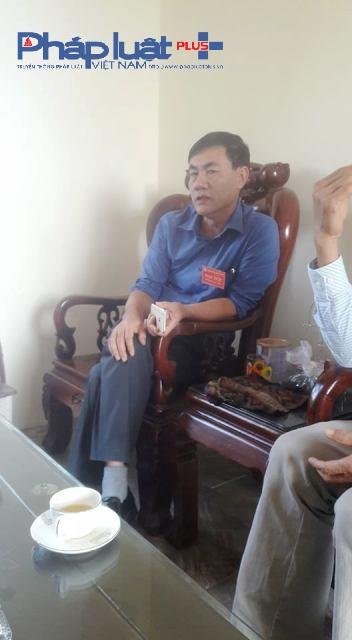 Ông Nguyễn Vinh Ngôn –Chủ tịch UBND xã Tiền Châu cho biết đã làm quyết liệt, nhưng... (Ảnh: Đào Tấn)