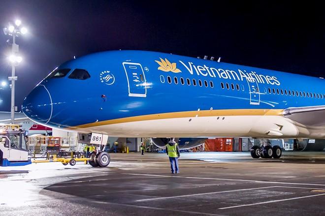 HĐQT của Vietnam Airlines khẳng định khi có đủ điều kiện sẽ chuyển sàn niêm yết cho mã HVN từ sàn UpCOM sang sàn HoSE. Ảnh: VNA.