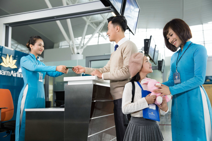 Vietnam Airlines ưu đãi đi Đông Nam Á cho HSG và trẻ em dưới 12 tuổi