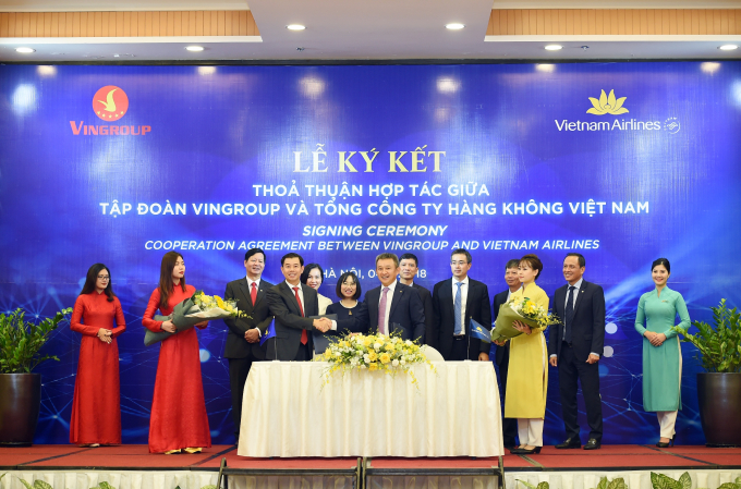 Vietnam Airlines và Vingroup ký thỏa thuận hợp tác