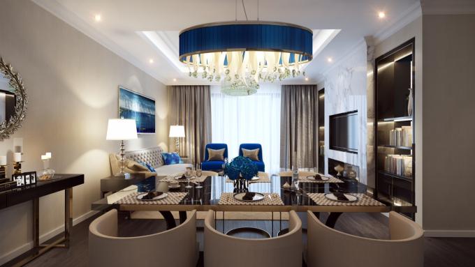 Chủ đầu tư Dự án gold Tower bàn giao đầy đủ nội thất sang trọng và tinh tế cho chủ sở hữu