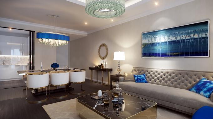 Nội thất Gold Tower căn hộ cao cấp đến từ các thương hiệu nổi tiếng thế giới