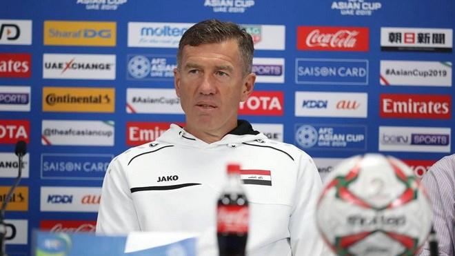 Huấn luyện viên Srecko Katanec của Iraq. (Ảnh: Hoàng Linh/TTXVN)