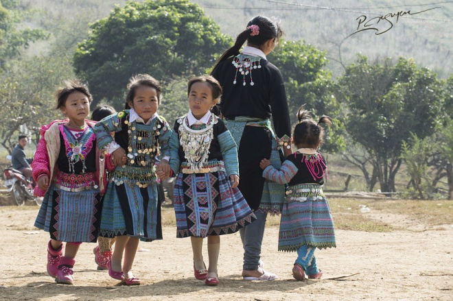 Kể từ trước Tết không khí vui tươi, nhộn nhịp đã hiện lên ở khắp các bản làng, từ Lóng Luông, Tân Lập, Lóng Sập, Chiềng Xuân, Chiềng Sơn, đến Phiêng Cành, Pa Phách.