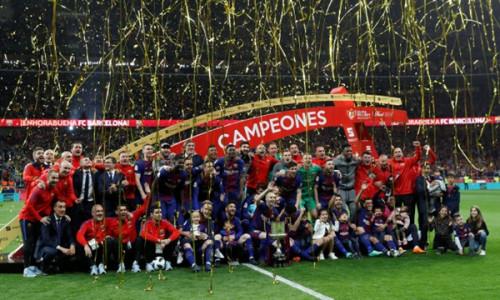 Đây là chức vô địch lần thứ 30 của Barca tại Cúp Nhà vua Tây Ban Nha.