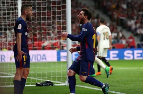 Messi cùng các đồng đội đã có một ngày thi đấu thăng hoa.