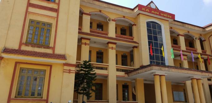 Trụ sở công an xã An Viên.