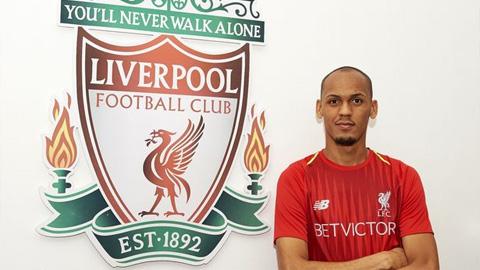 Liverpool đã mang về Fabinho từ AS Monaco.