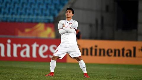 Văn Thanh dính chấn thương nặng và không thể góp mặt tại AFF Cup 2018. Ảnh: VNE.