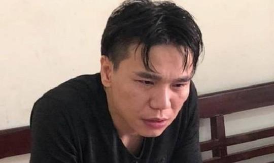 Ca sĩ Châu Việt Cường tại cơ quan điều tra