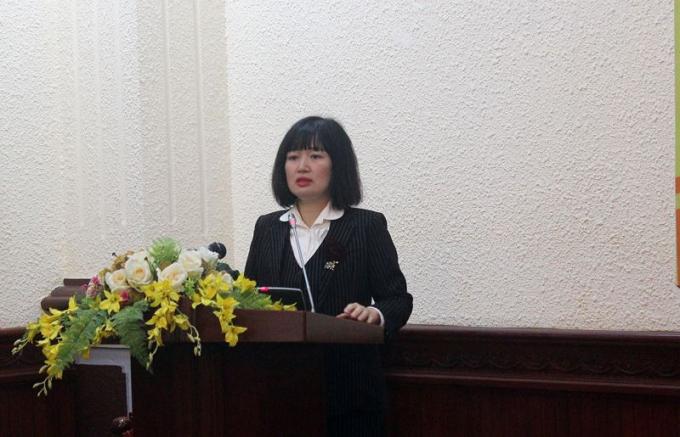 Phó Vụ trưởng Vụ PBGDPL Ngô Quỳnh Hoa cho biết các cuộc thi đã được tổ chức bài bản, nghiêm túc, khách quan