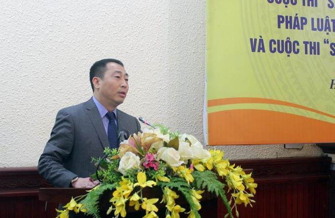 Vụ trưởng Vụ PBGDPL Lê Vệ Quốc khẳng định thời gian qua, công tác PBGDPL được không ngừng đổi mới.