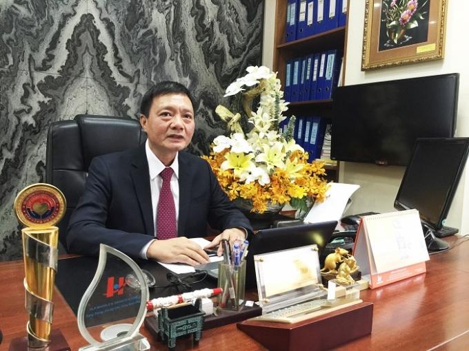 Ông Nguyễn Dư Lực - Chủ tịch Cty Hưng Lộc Phát.