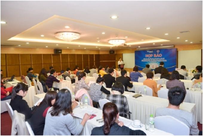 Buổi họp báo của Kids Plaza và công ty Nhật Phương