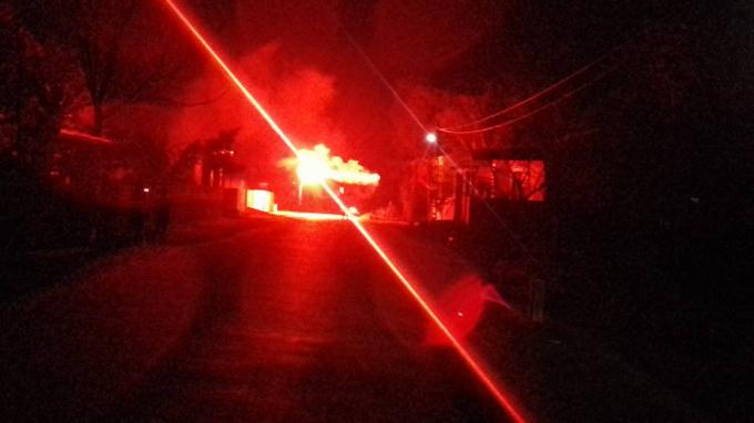 Hình ảnh đốt pháo hoa được cho là ở Buôn Ma Thuột - Đắk Lắk. Nguồn FacebookJooJi Chau