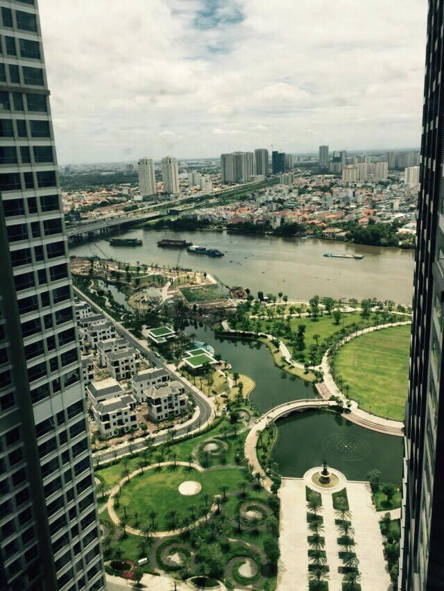 Căn hộ 2 phòng ngủ toà Park 6 dự án Vinhomes Central Park.