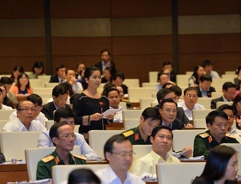 Đại biểu Ksor Phước Hà (đoàn Gia Lai).