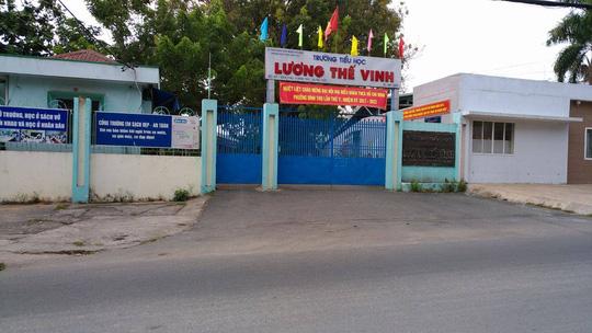 Trường tiểu học Lương Thế Vinh, quận Thủ Đức, TP HCM.