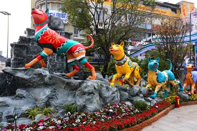 Năm nay, những chú chó Phú Quốc được chọn làm chủ đề chính.