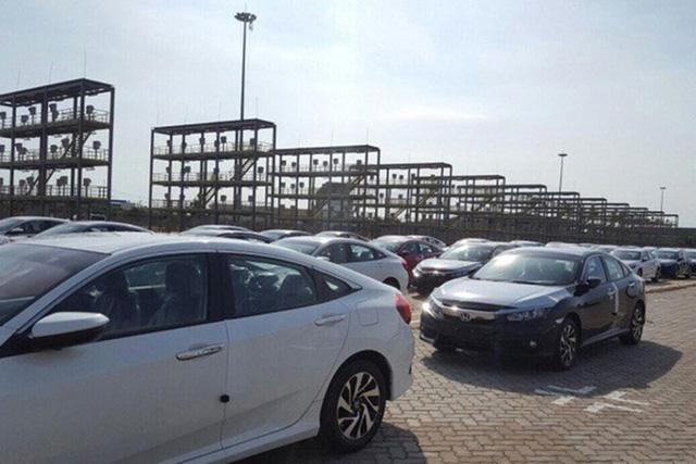 Hàng nghìn xe nhập cập cảng trong tuần đầu tháng 3. Ảnh: PV