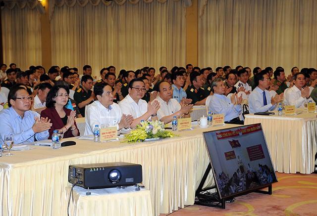 Các đại biểu dự hội nghị tại hội trường Trung tâm Hội nghị quốc tế, số 11 Lê Hồng Phong (Hà Nội).