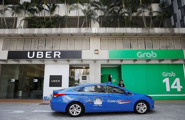 Bộ Công Thương khẳng định có dấu hiệu vi phạm trong thương vụ Uber sáp nhập Grab.