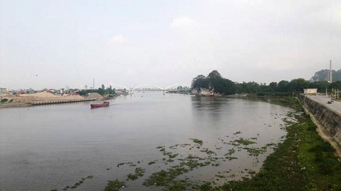 Dự án kè đê Hữu Đáy đoạn qua TP Ninh Bình.