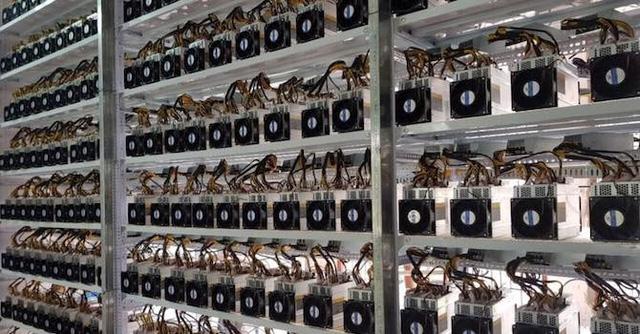 Việc sử dụng máy đào tiền ảo được cho là vi phạm quy định về thanh toán không dùng tiền mặt (Ảnh minh họa)