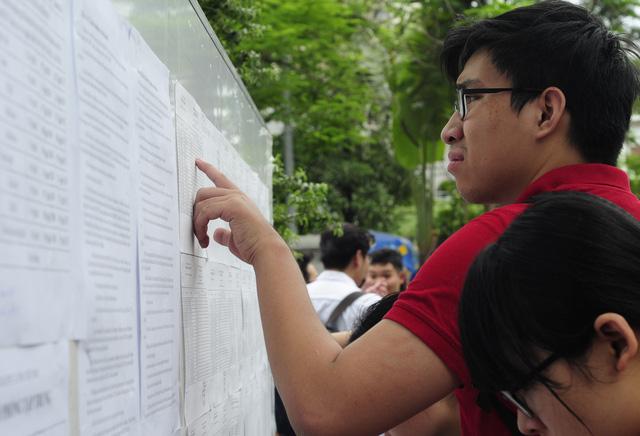 Vụ sửa điểm thi THPT quốc gia 2018 tại Hà Giang khiến nhiều người phải giật mình về lỗ hổng trong công tác xử lý điểm thi. (ảnh minh họa)