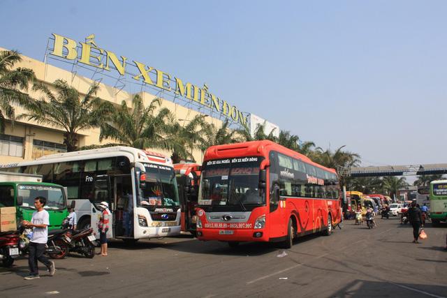 Bến xe Miền Đông tăng giá vé dịp lễ 2/9 từ 30-40%.