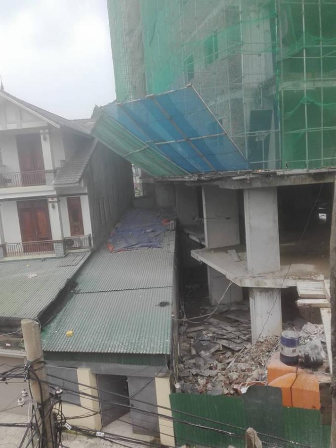 Hà Tĩnh: Tòa nhà 15 tầng 'chen nhau' với nhà dân liệu có an toàn?