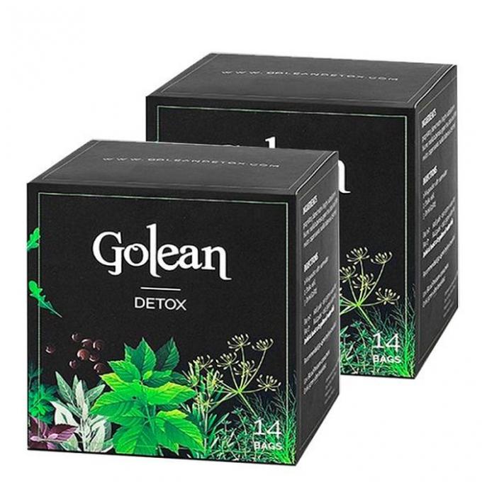 Sản phẩm giảm cân Go lean Detox có chứa chất cấm.