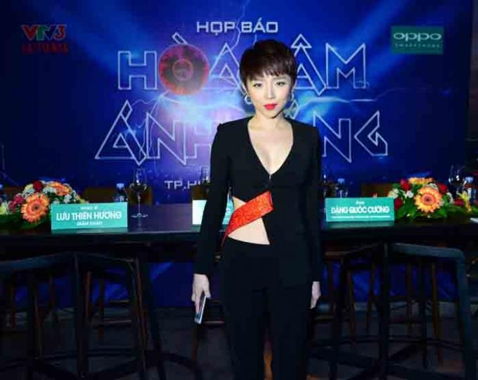 Ca sỹ Tóc Tiên được đề cửMusic video của năm. Ảnh: Internet