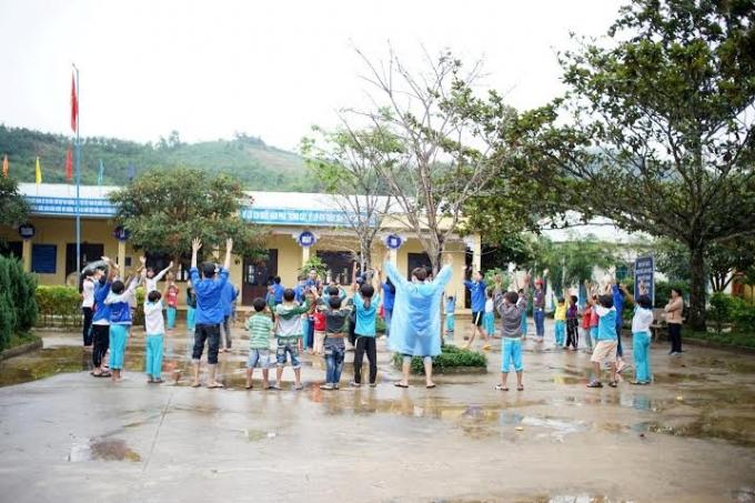 Đây là một trong những hoạt động thiện nguyện thường niên của sinh viên Đà Nẵng nhiều năm qua