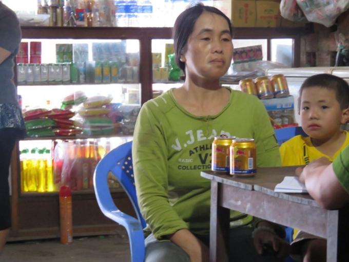 Chị Nguyễn Thị Huyền bị đánh 2 lần nhưng đến nay sự việc vẫn