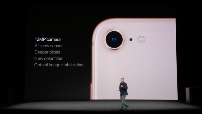 iPhone 8 Plus được trang bị hệ thống camera kép