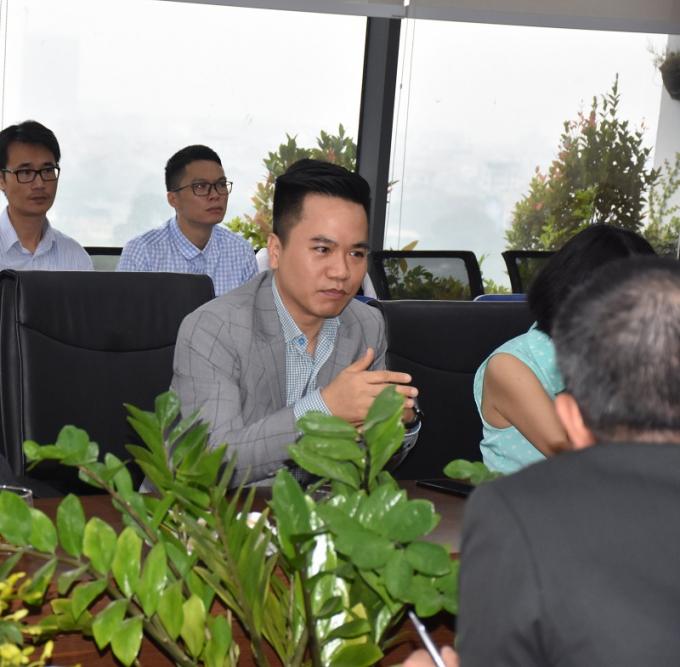 Ông Nguyễn Minh Nguyên – Phó TGĐ Tập đoàn Capital House chia sẻ về Dự án hợp tác giữa Capital House và PwC Việt Nam