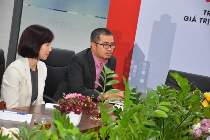 Ông Hoàng Đức Hùng – Phó TGĐ PwC Việt Nam chia sẻ tại sự kiện