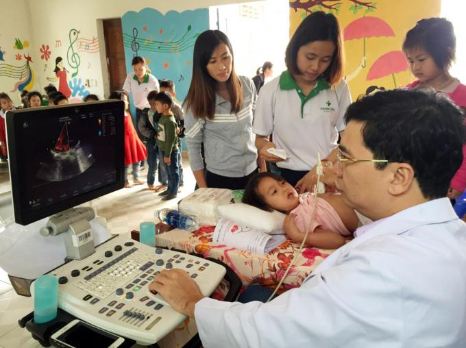 Đây là đợt khám sàng lọc chỉ định phẫu thuật cho trẻ khuyết tật lần thứ nhất trong năm 2019.