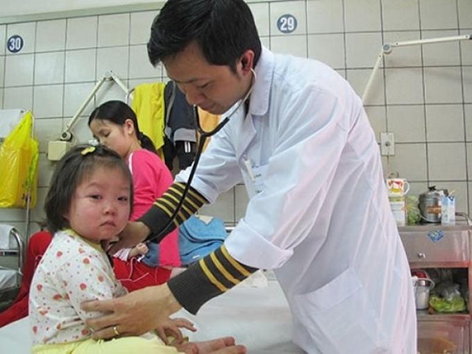 Sởi là bệnh truyền nhiễm thường gia tăng ở trẻ em vào thời điểm đông xuân