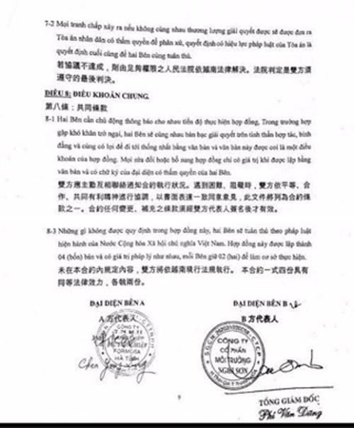 Công ty CP môi trường Nghi Sơn cho rằng mới chỉ có thỏa thuận, chứ chưa vận chuyển chất thải về Thanh Hóa xử lý.
